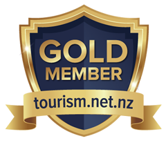 New Zealand Tourism Guide Gold Shield